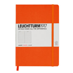 Leuchtturm 1917 - A5 - Lined - Hard Cover - Orange