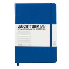 Leuchtturm 1917 - A5 - Lined - Hard Cover - Royal Blue