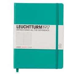 Leuchtturm 1917 - A5 - Lined - Hard Cover - Emerald Green