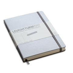 Leuchtturm 1917 - A5 - Lined - Hard Cover - Silver