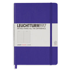 Leuchtturm 1917 - A5 - Lined - Hard Cover - Purple