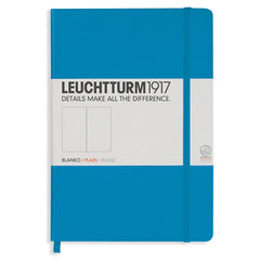 Leuchtturm 1917 - A5 - Plain - Hard Cover - Azure