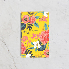 Rifle Paper Co. - Pocket Notepad - Birch Floral