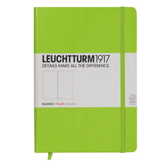 Leuchtturm 1917 - A5 - Plain - Hard Cover - Lime