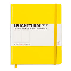 Leuchtturm 1917 - A5 - Plain - Hard Cover - Lemon