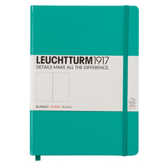 Leuchtturm 1917 - A5 - Plain - Hard Cover - Emerald Green