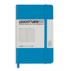 Leuchtturm 1917 - A6 - Lined - Hard Cover - Azure