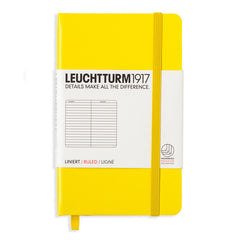 Leuchtturm 1917 - A6 - Lined - Hard Cover - Lemon