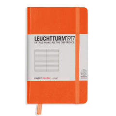 Leuchtturm 1917 - A6 - Lined - Hard Cover - Orange
