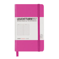 Leuchtturm 1917 - A6 - Lined - Hard Cover - Pink