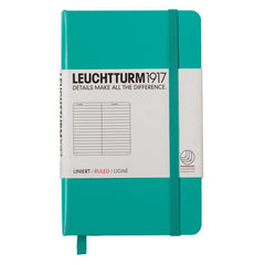 Leuchtturm 1917 - A6 - Lined - Hard Cover - Emerald Green