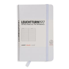 Leuchtturm 1917 - A6 - Lined - Hard Cover - White