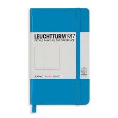 Leuchtturm 1917 - A6 - Plain - Hard Cover - Azure