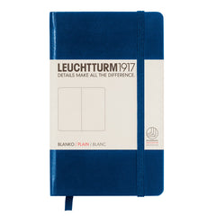 Leuchtturm 1917 - A6 - Plain - Hard Cover - Navy Blue