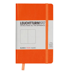 Leuchtturm 1917 - A6 - Plain - Hard Cover - Orange