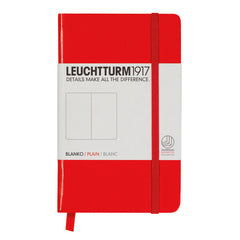 Leuchtturm 1917 - A6 - Plain - Hard Cover - Red