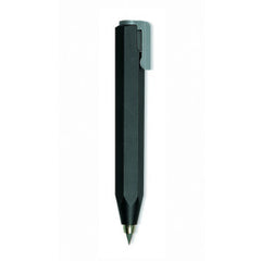 Worther - Shorty Mechanical Pencil (3.15mm) - Black with Grey Clip