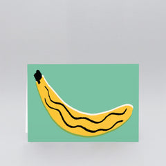 Wrap - Greeting Card - Banana