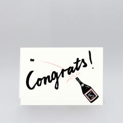Wrap - Greeting Card - Congrats