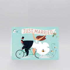 Wrap - Greeting Card - Just Married