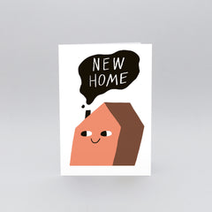 Wrap - Greeting Card - New Home