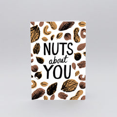 Wrap - Greeting Card - Nuts About You