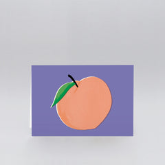 Wrap - Greeting Card - Peach