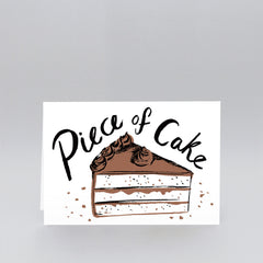 Wrap - Greeting Card - Piece Of Cake