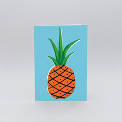 Wrap - Greeting Card - Pineapple