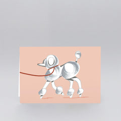 Wrap - Greeting Card - Poodle
