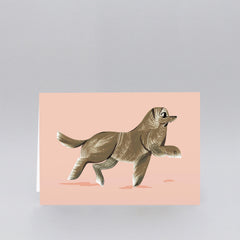 Wrap - Greeting Card - Retriever