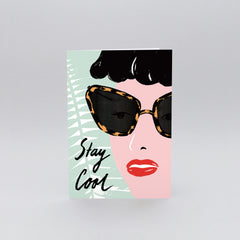 Wrap - Greeting Card - Stay Cool
