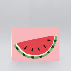 Wrap - Greeting Card - Watermelon