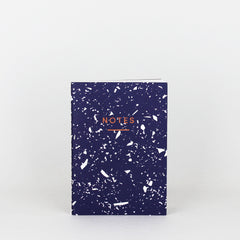 Wrap - Fragment Notebook - Plain - Mini (A6) - Navy