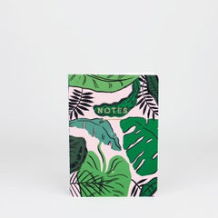Wrap - Notebook - Plain - Mini (A6) - Tropical Leaves