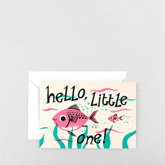 Wrap - Greeting Card  - Hello Little One
