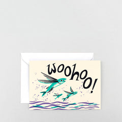 Wrap - Greeting Card - Woo Hoo
