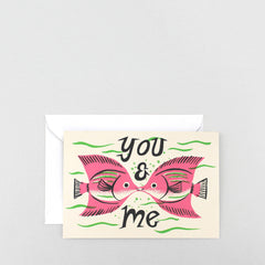 Wrap - Greeting Card - You and Me