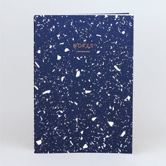 Wrap - Fragment Notebook - Plain - Large (A4) - Navy