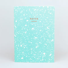 Wrap - Fragment Notebook - Plain - Large (A4) - Mint