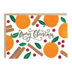 Jade Fisher - Merry Christmas - Mulled - Christmas Card