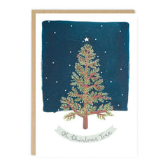 Jade Fisher - Merry Christmas - Tree - Christmas Card