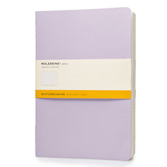 Moleskine Notebook - Cahier - Set of 3 - Extra Large - Ruled - Pastel Colours