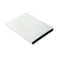 Daycraft Signature Gutenberg Notebook - A6 - Times New Roman White