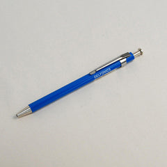 Delfonics Wooden Ball Point Pen - Mini - Blue