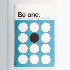 "Ogami Quotes Notebook - Plain - Mini - ""Be One."""