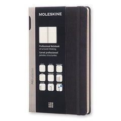 Moleskine - Professional Notebook - Large - Hard Cover - Black