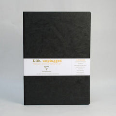 Clairefontaine Notebook - Essentials - Clothbound - A4 - Lined - Black