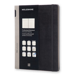 Moleskine - Professional Notebook -  Extra Large - Hard Cover - Black