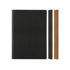 Daycraft Signature Duo Notebook - A5 - Black/Brown